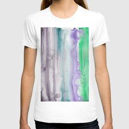 7    190907   Watercolor Abstract Painting T-shirt