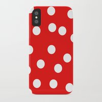 polka dot iPhone & iPod Cases featuring Polka dot by Bubblemaker