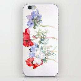 Patriotic Flowers iPhone Skin