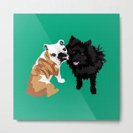 Bailey and Buddy Metal Print