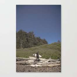 To the Ocean Canvas Print
