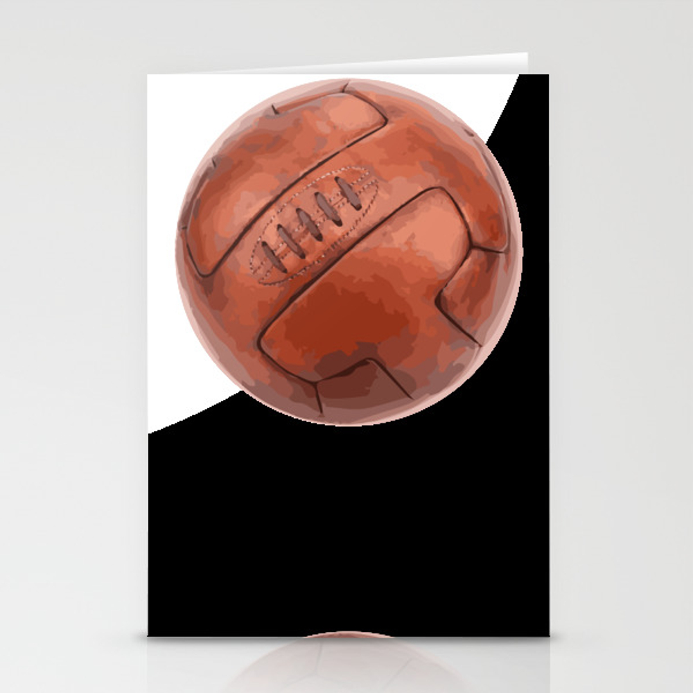 World Cup Soccer Ball - 1930 Stationery Cards by Giart CRD8255167