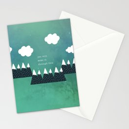You Will Make It Through This 4 Stationery Cards