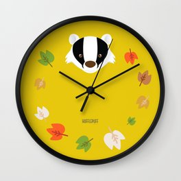 The Badger of Loyalty (Limited 2018) Wall Clock