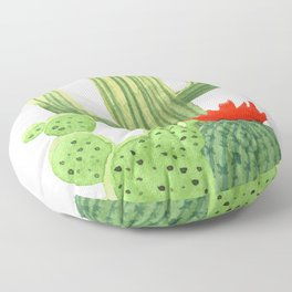 Perfect Cactus Bunch Floor Pillow