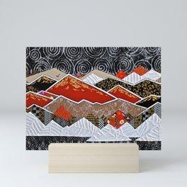 Wild (Red) Mini Art Print