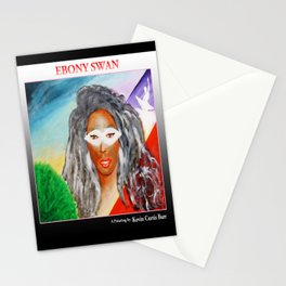 EBONY SWAN Stationery Cards