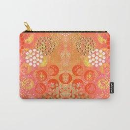 Orange Fizz Carry-All Pouch