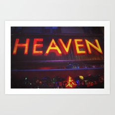 Heaven in Color Art Print
