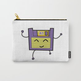 A1 Cute Dancing Floppy Disk Carry-All Pouch