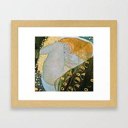 Gustav Klimt - Danae Framed Art Print