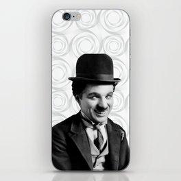 Charlie Chaplin Old Hollywood iPhone Skin