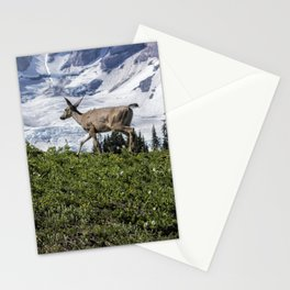 Deer Heading Up the Mountain, No. 1 Stationery Cards