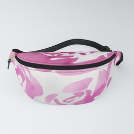2  |  190412 Flower Abstract Watercolour Painting Fanny Pack
