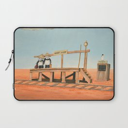 Outback Train Station Laptop Sleeve