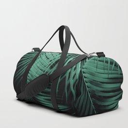 Palm Leaves Green Vibes #3 #tropical #decor #art #society6 Duffle Bag