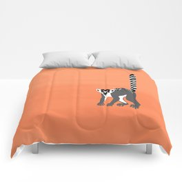 Ring-tailed lemur Comforters
