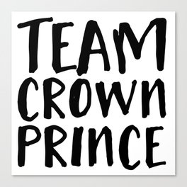 Team Crown Prince Canvas Print