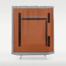 Building Blocks (Childhood) Shower Curtain