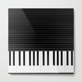 Piano vector art Metal Print