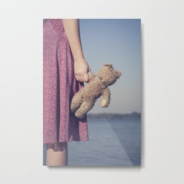 Teddy Metal Print