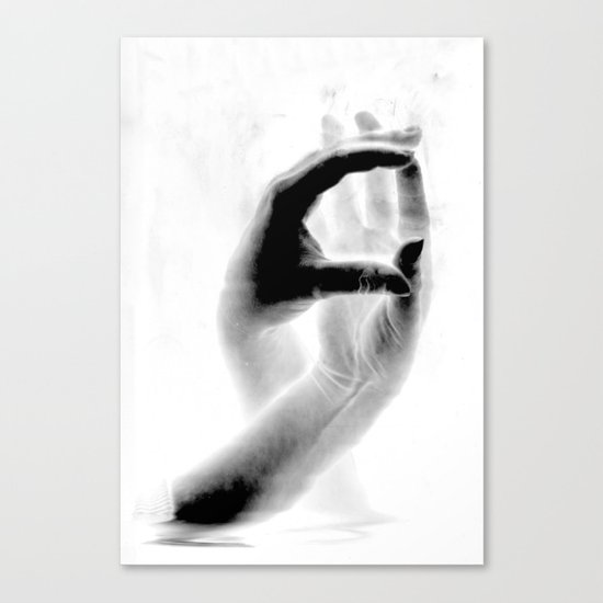 Fingers #2 Canvas Print