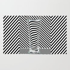 Striped Water Rug
