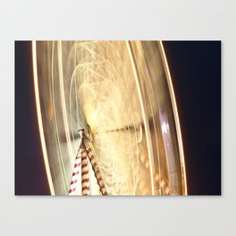 Ferris Wheel at the Tall Ships Waterford 2011 Canvas Print