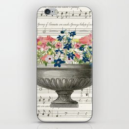 Urn and Flowers iPhone Skin