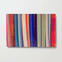 Bright Hammock Patterns Metal Print