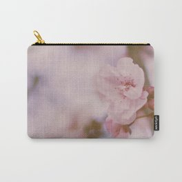 Feminine Blush Blossoms Carry-All Pouch