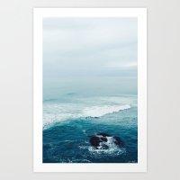 ocean vibes Art Print