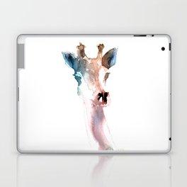 Giraffe / Abstract animal portrait. Laptop & iPad Skin
