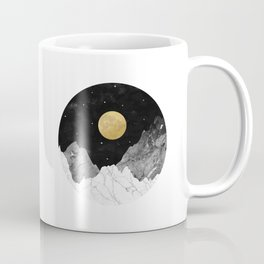 Moon and Stars Coffee Mug