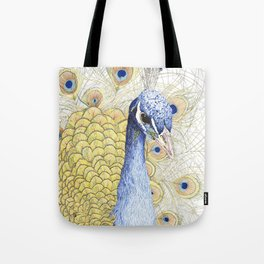 The Peacock Tote Bag