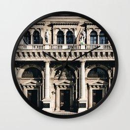 Stunning Symmetrical Classic Budapest Facade Wall Clock