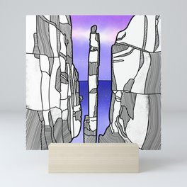 The Totem Pole Mini Art Print