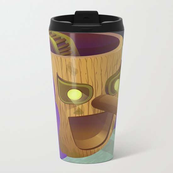 Pinoccio Story Metal Travel Mug