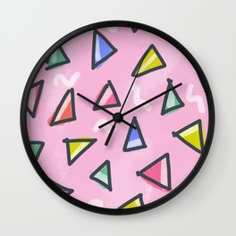 Tri Wall Clock