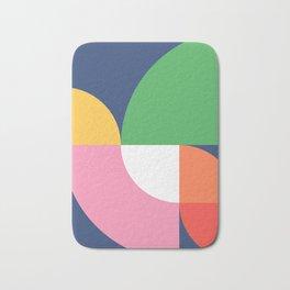 Abstract Geometric 15 Bath Mat