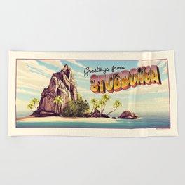 stubbonga towel Beach Towel