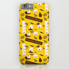 Chocolate Wasted (yellow) iPhone 6s Slim Case