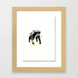 Honeybadger Framed Art Print
