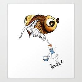 Nora's Fish Art Print