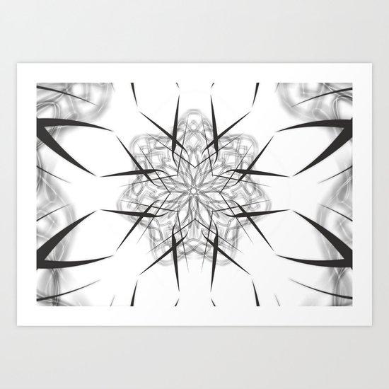 AGHAMASH II Art Print