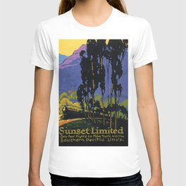 Vintage poster - Sunset Limited T-shirt