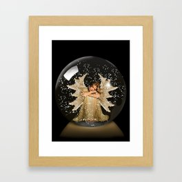 Sleeping Angel Framed Art Print