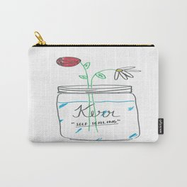 Mason fulla' flowers Carry-All Pouch