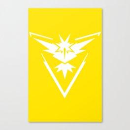PokemonGO Instinct Canvas Print