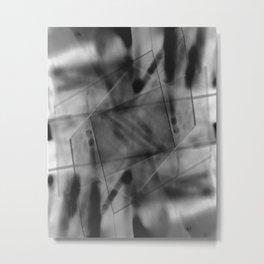 Double Exposure 4 Metal Print